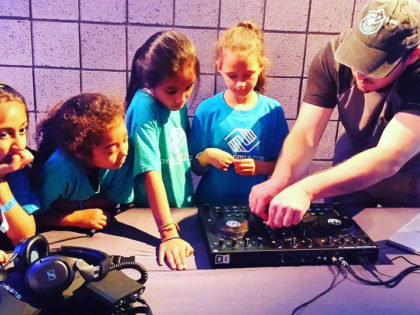 Vulnerable youths impacted by mass incarceration are thankful for Give a Beat, a nonprofit providing educational DJ workshops and mentorship programs. Give back to children in need here.