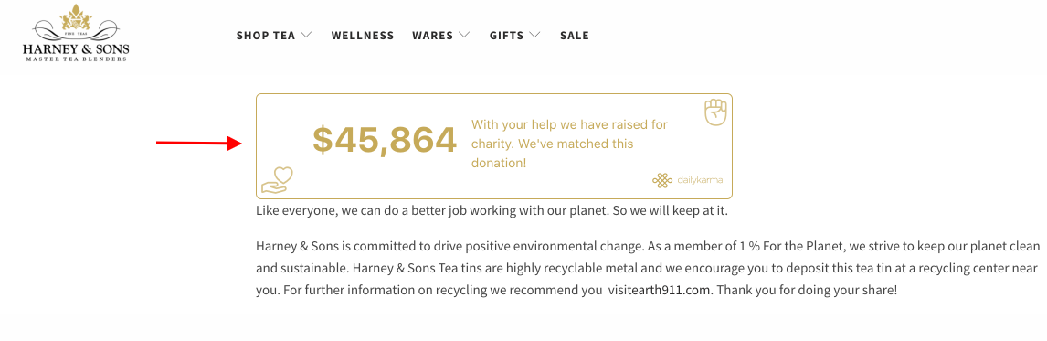 Harney impact page